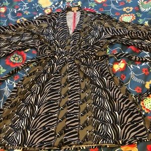 Banana Republic Issa Giraffe Mini Dress Sz 12